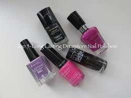 top 5 long lasting drugstore nail polishes youtube