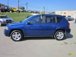 compass jeep 2009 deep water blue pearl 2009 jeep compass sport exterior photo
