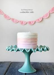 how to make watercolor cakes u2014 style sweet ca