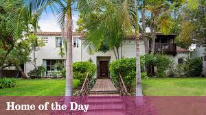 home of the day a spanish revival classic in beverly hills la times