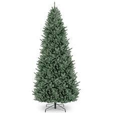 unlit christmas trees buy the 12 ft unlit fraser fir slim artificial christmas