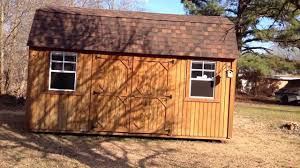 Derksen Portable Finished Cabins At Enterprise Center Youtube Graceland Portable Buildings Side Lofted Barn Review Youtube