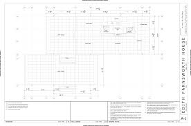 Kennel Floor Plans by Farnsworth House Floor Plan U2013 Gurus Floor