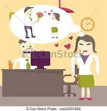 cadeau bureau homme wants plat femme amour cadeau bureau clipart