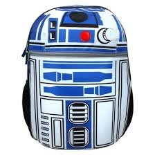wars r2d2 on patrol 16 backpack with lights and sounds