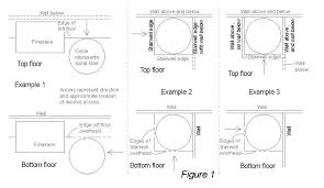 spiral staircase floor plan design spiral stairs learn how to fit a spiral staircase in your home