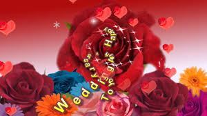 Wedding Day Wishes For Card Happy Wedding Anniversary To You Online Greeting Card Ecard Youtube