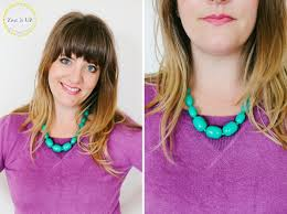 wear statement necklace images How to wear a statement necklace zest it up jpg