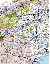 Map Of The Usa With Cities by Highway Map Of South Carolinafree Maps Of Us