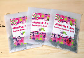 cheap seed packets wedding flowers flower packets wedding favors