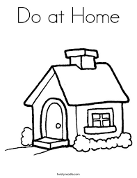 do at home coloring page twisty noodle