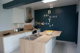 cuisine quimper cuisine client cuisine blanche ambiance bord de mer de socoo c