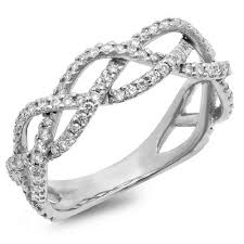 braided ring braided diamond ring amir