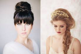 braided hair styles for a rounded face type top tips to find the perfect wedding hairstyle for your face shape