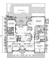Mediterranean Style House Plans by Mediterranean Style House Plan 7 Beds 8 50 Baths 7883 Sq Ft Plan