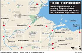 Bowling Green Ohio Map by Heidelberg Lab Is Key To Algae Predictions The Blade
