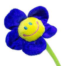 Smiley Flowers - plush daisy flowers 13