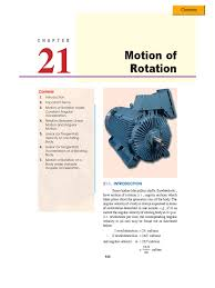Chp 180 Chp 21 Rotation Around A Fixed Axis Acceleration