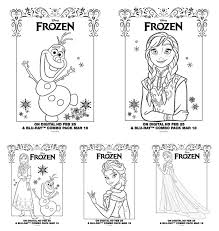 new frozen coloring pages frozen on dvd plus new frozen activity sheets and
