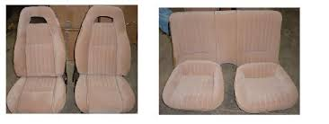 Upholstery Car Seat Firebird 82 84 Pmd Seat Upholstery Kit New Replacement Hawks
