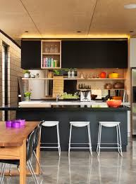 Kitchen Trends 2015 by Kitchen Plywood And Black Stone Bench Kitchens Archiblox