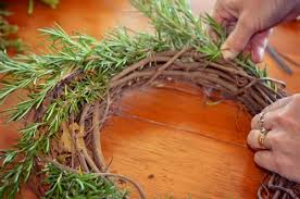 how to make wreaths how to make an herbal wreath keeper of the home