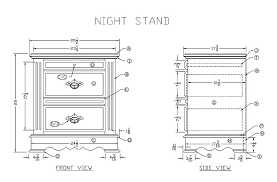 learn how to make a wooden night stand woodworking plans from