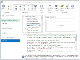 devexpress layout control video developer express global