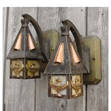Lantern Wall Sconce Rustic Sconces Vanity Lights Western Lamps Lantern Wall Sconce