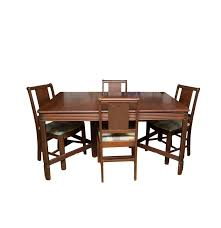 Bassett Dining Room Sets Vintage Hooker Bassett Furniture Dining Table And Chair Set Ebth