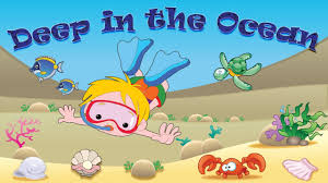 deep in the ocean deep in the sea song for kids learning