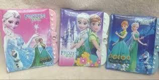 frozen notebook stock dropship student diary frozen