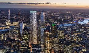 porsche design tower construction architect eric parry unveils design for london u0027s tallest building