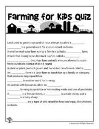 let u0027s learn about farming an elementary lesson plan woo jr