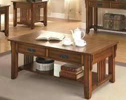 mission style coffee table light oak quartersawn oak arts crafts sofa table mission style woodruff