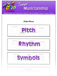 worksheets for teaching young children music theory