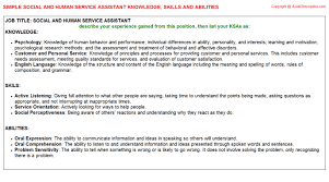 Resume Skills Abilities Examples by Best Photos Of Knowledge Skills Abilities And Writing Ksa