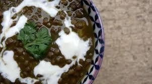 cuisiner les lentilles vertes soupe aux lentilles vertes adassi la tendresse en cuisine