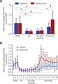 paradoxical emergence administration of subanesthetic ketamine