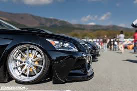 slammed lexus ls460 stancenation japan g edition coverage part 3 stancenation