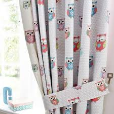 Dunelm Mill Nursery Curtains Pretty Owls Childrens Bedroom Trend Dunelm