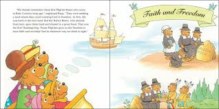 the night before thanksgiving book amazon com the berenstain bears thanksgiving blessings