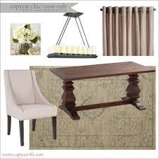 copy cat chic room redo trestle table dining room copycatchic