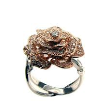 rose rings images 18k rose gold diamond rose ring jewelry kingdom jpg