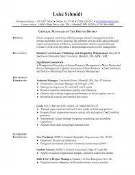 sample cover letter restaurant manager cover letter for cook gallery cover letter ideas