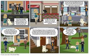 the dog that bit people storyboard by kledi