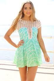 skirt mermaid print dress lime 58 0000