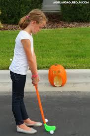 Halloween Monster Games by Pumpkin Golf Halloween Game Eighteen25