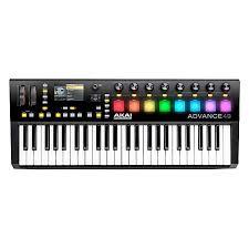 amazon black friday midi keyboards sale akai professional advance 49 midi keyboard controller guitar center