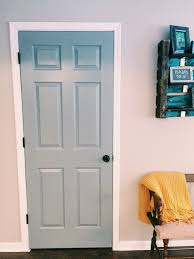 How To Paint An Interior Door by Why You Should Paint Your Interior Doors Dark U2014 Jessica Rayome